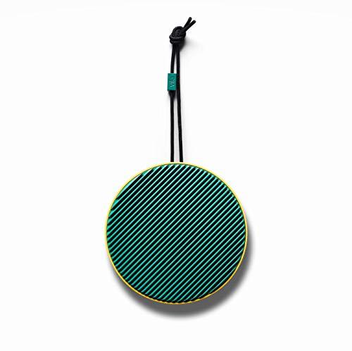 Vifa City - Bluetooth 5.0 Lautsprecher | Tragebare, kabellose Musikbox | Skandinavisches Design - Zitrone Grün