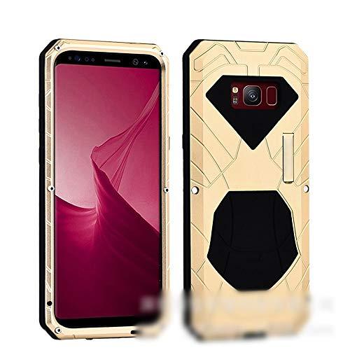 LASTARTS Nueva Caja de teléfono Anti-móvil Caja de Metal Samsung S8, Note8, S8 Plus Cubierta de teléfono móvil a Prueba de caídas y colisiones para Samsung