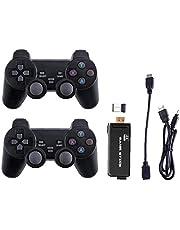 Jeux Console sans fil 4K jeu Usb console classique Stick Game Console de jeux vidéo Mini Controller Retro double sortie lecteur 32G, machine jeu