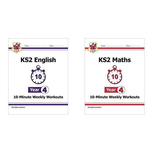 KS2 Maths and English 10-Minute Weekly Workouts Bundle - Year 4