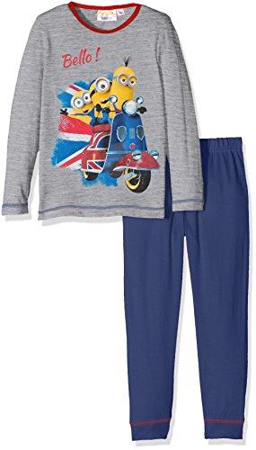 Universal Pictures Minions Conjuntos de Pijama, Gris (Grey), 3 años para Niñas