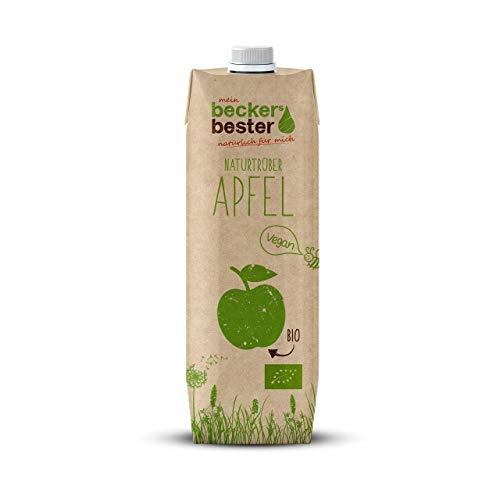 beckers bester Bio-Apfelsaft naturtrüb, 100% Direktsaft, 6er Pack (6 x 1000 ml)