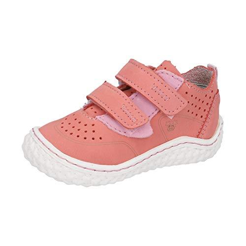 RICOSTA Pepino CHAPP - Zapatos bajos para niños, ancho: medio (WMS), zapatos descalzos, color Rojo, talla 21 EU
