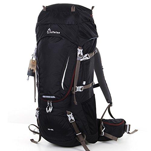 3. WolfWise 65L Mochila de Senderismo - La mochila para disfrutar de la naturaleza
