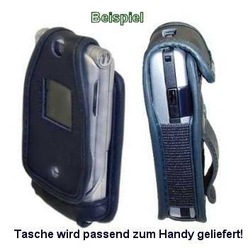 Handy-Tasche schwarz für Mitsubishi Trium Mars