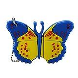 256GB Pendrive Cute Blue Butterfly Unidad Flash USB Memory Stick Unidad de Memoria USB