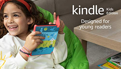 Kindle Kids Edition | Includes access to over a thousand books, Space Station Cover