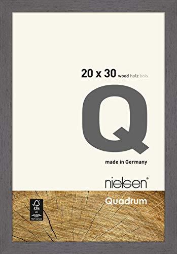 Nielsen Holz Bilderrahmen Quadrum, 20x30 cm, Grau