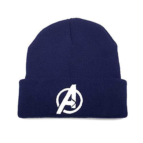 MCSZG Heißer Mode Avengers Beanie Hut hochwertige lässige mützen für männer Frauen warme gestrickte Skullies wintermütze Mode Unisex Cap