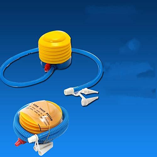 CNMZ inflador portátil de mano inflador de aire inflador de piscina inflador de aire manualmente inflador de aire bomba para piscina flotador