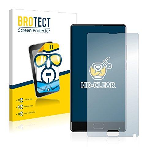 BROTECT Schutzfolie kompatibel mit Bluboo S1 (2 Stück) klare Bildschirmschutz-Folie