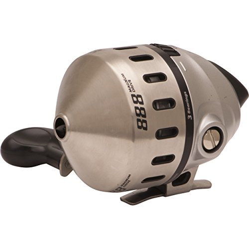 Zebco Spincast Reel (with Switchable Bait Alert), Multi-coloured, One Size (888H, 25, BX3)