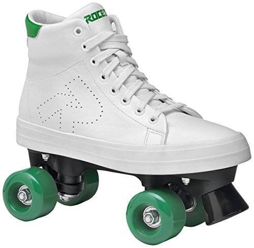 Roces Ace Rollerskates Rollschuhe, White-Green, 39