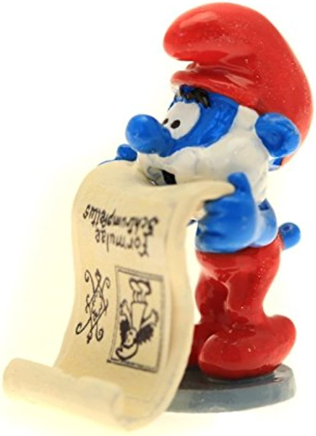 Collectible Figure Pixi Papa Smurf with the formula sign 6418 (2016)