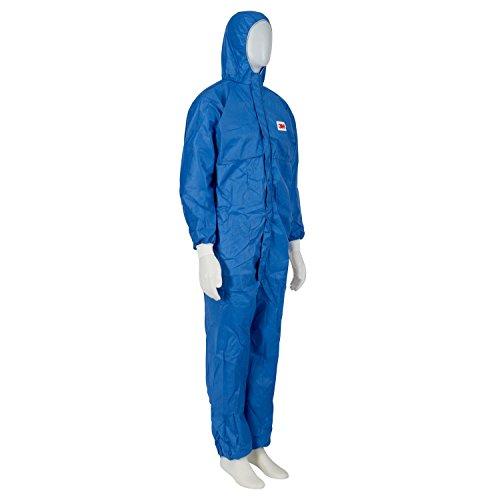 3M 4530 Indumento di Protezione 5/6, SMMS Polipropilene, FR (Flame Retardant), Blu