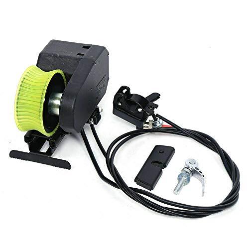 Fetcoi Accesorio compacto para bicicleta de montaña, 24 V, color negro y verde