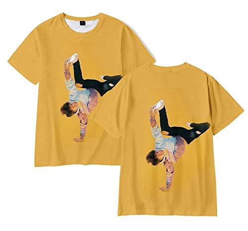 LYJNBB T-Shirts La Maison Hype Manches Courtes Unisexe, Sweat-Shirt T 3D Imprimer XSXXXL, Vêtements Fan Vidéo Vêtements,4,XL