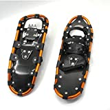 Aluminum Snowshoes, Mountaineering Snow Shoes Youth Kids Women Men Alloy Adventure Trail Hiking Snowshoes (Size: 25In, 27In, 29In),25in