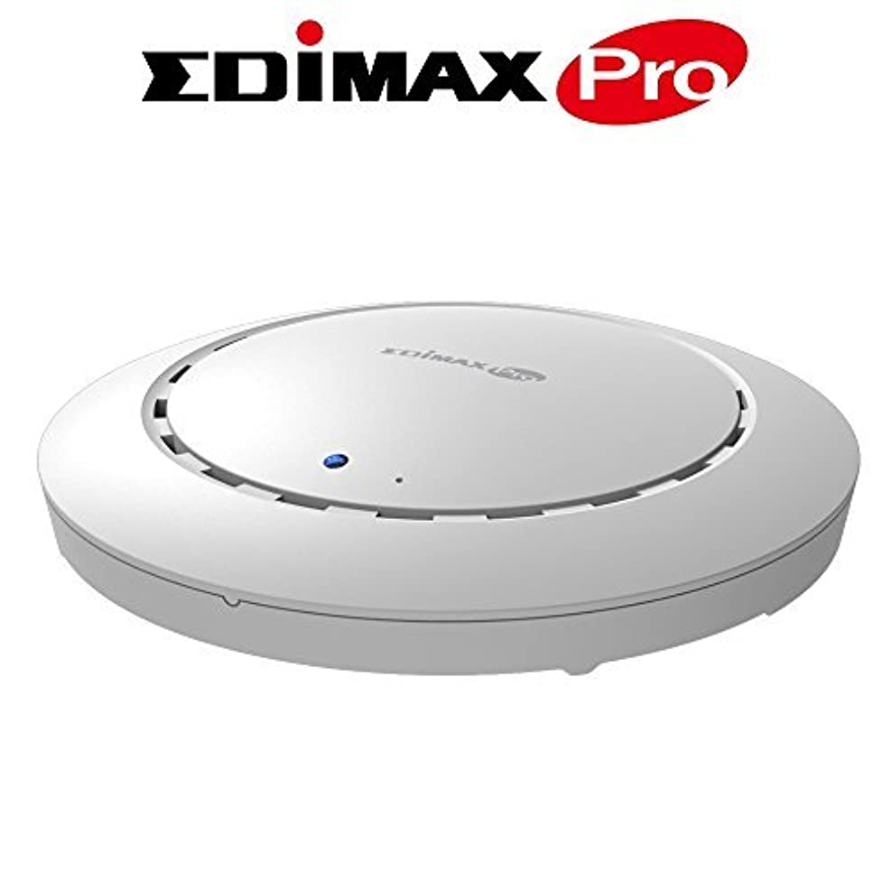 開いた提供されたキッチンEdimax Pro AC1200 Dual-Band Ceiling-Mount PoE Business Access Point (CAP1200) [並行輸入品]