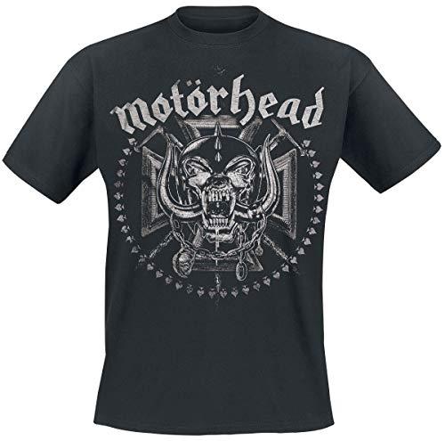 Motörhead Iron Cross Swords Männer T-Shirt schwarz L 100% Baumwolle Band-Merch, Bands