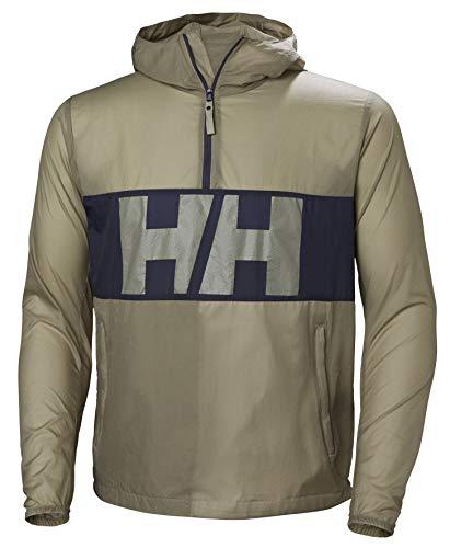 Helly Hansen M Active Windbreaker Anorak Beige, Herren Jacke, Größe M - Farbe Aluminum