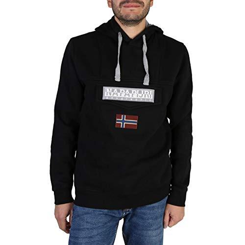 NAPAPIJRI Burgee Sweatshirt Felpa, Nero (Black 041), Small Uomo