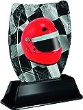 Trofeo Monster Iceberg - Casco da corsa con incisione gratuita, per club e campionati, in acrilico stampato (3 misure) (180 mm)