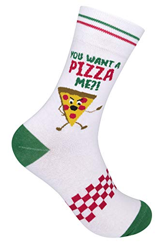 You Want A Pizza Me? - Novelty Socks Men - Novelty Socks Women - Funny Socks For Men - Gifts For Men...