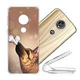vingarshern Coque Motorola Moto E5 Plus Housse Cover Anti Choc Protection,Ultra Fine Bumper Case...