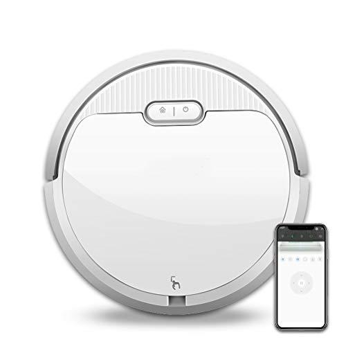 Robot Aspirador, Robot De Limpieza Para Suelos,Carga Automática Y Navegación, Aplicación Y Control De Bluetooth, Con Sensores Anticaída, Para Pelos Largos De Animales Alfombras Baldosas Suelos Duros