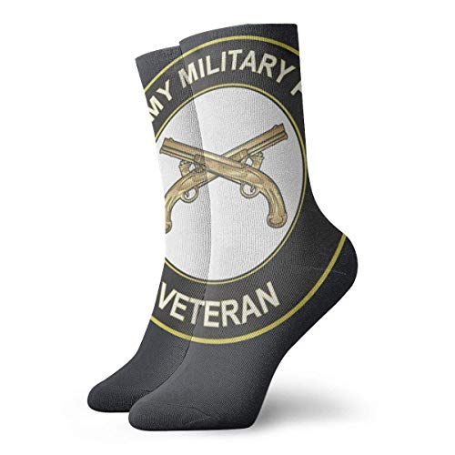 FJXXM Calcetines,Calcetines De Equipo De Policía Militar Veterano Del Ejército Calcetines Decorativos De Moda Para Mujer Calcetines Decorativos De Moda Para Vestir,30cm