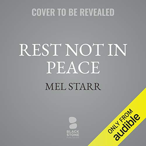Rest Not in Peace audiobook cover art