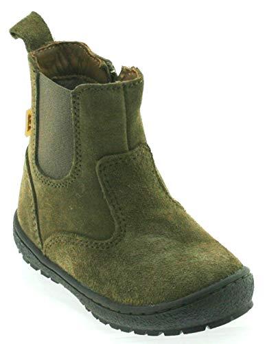 Bisgaard Jungen high top 60319 Stiefelette, Größe:29 EU, Farbe:Army Suede