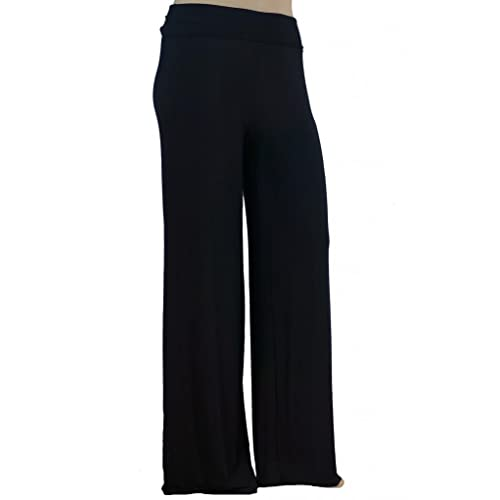 f31a4a5bdc964 Plus Size Wide Leg Pants: Amazon.com