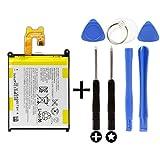 Batterie pour Sony Xperia Z2 + Kit outils/outils D6503 D6502 LIS1543ERPC