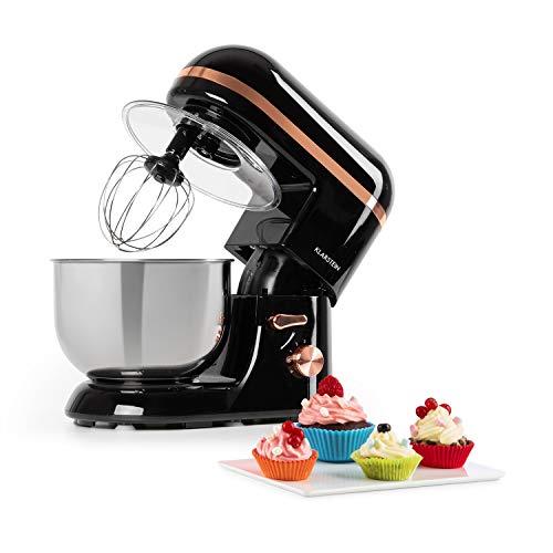 Klarstein Bella Elegance - Robot de cocina, Potencia 1300W/1,7PS, 6 niveles, Función...