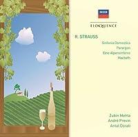 Sinfonia Domestica / Parergon/Macbeth etc. by AndrePrevin/AntalDorati/Zubin Mehta (2008-10-13)