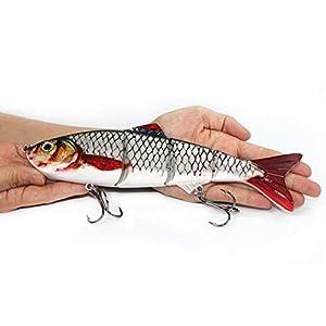 Nuptio Big Jointed Swimbaits Fishing...