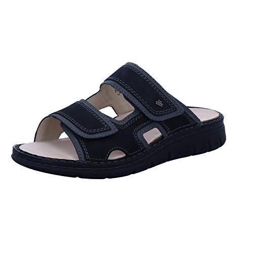 Finn Comfort Thasos-Soft Schwarz/Street - Pantolette - Herrenschuhe Sandale/Pantolette, Schwarz, Leder (Buggy/Patagonia)