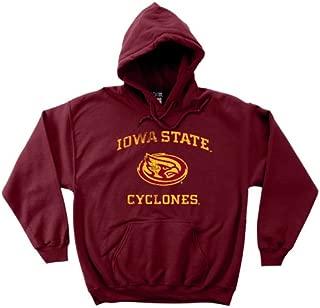 NCAA Iowa State Cyclones 50/50 Blended 8-Ounce Vintage Mascot Hooded Sweatshirt