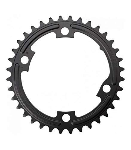 SHIMANO Plato 36D R7000 105 52/36 Ciclismo, Adultos Unisex, Negro(Negro)