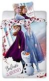 La Reine des Neiges 2 Housse de Couette 140x200 cm + taie 63x63 cm frozen2