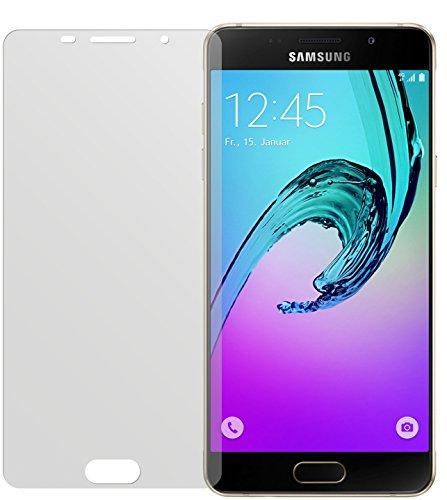 dipos I 2X Schutzfolie matt kompatibel mit Samsung Galaxy A5 (2016) Folie Displayschutzfolie