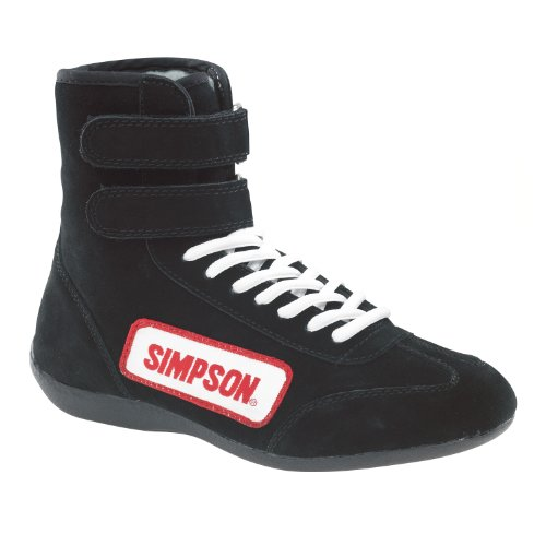 Simpson Racing 28100BK SFI Approved Driving Shoes