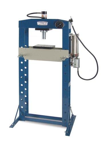 Great Deal! Baileigh HSP-20A Pneumatic h-Frame Shop Press, 20 Ton Capacity, 19-1/4 Working Width