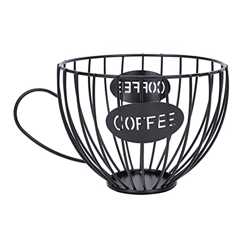 Cabilock Metalen Draad Fruitmand Koffie Mok Opslag Mand Koffie Houder Capsule Organizer Fruit Serveerschaal Display Houder Voor Groenten Snacks Brood Aanrecht