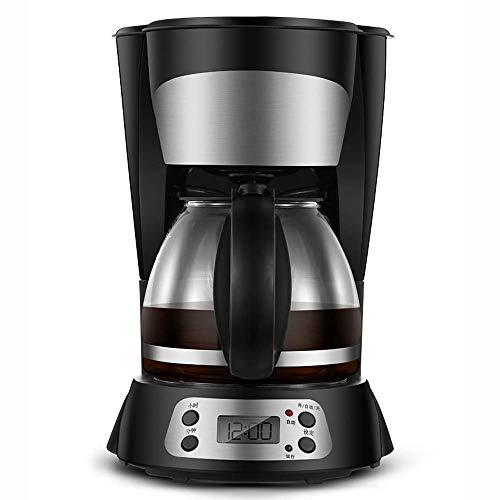 WMM-Coffee machine Máquina de Filtro de café | Cafetera de 800 vatios para café instantáneo, expreso, protección en seco, función antigoteo, función de Apagado automático