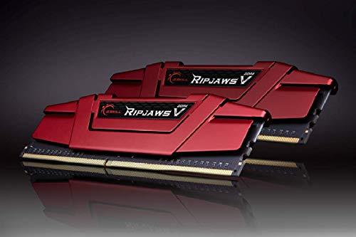 G. Skill F43600°C19D 16GVRB Memory Module, F43600°C19D 16GVRB, red