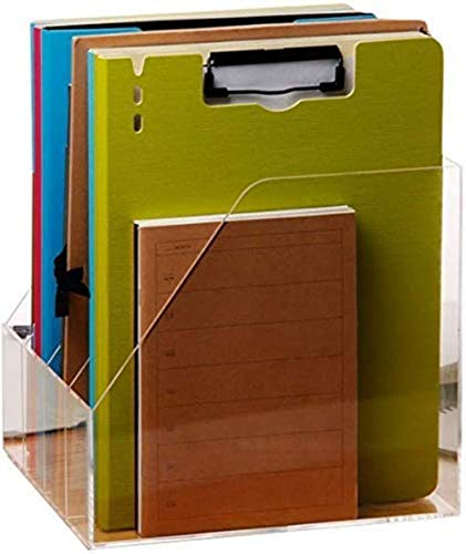 File Cabinets Desktop File Box Magazine Plexiglass File Divider Desk Supplies Storage Manager Transparant Kleur Home Office Meubels Home Office Meubels
