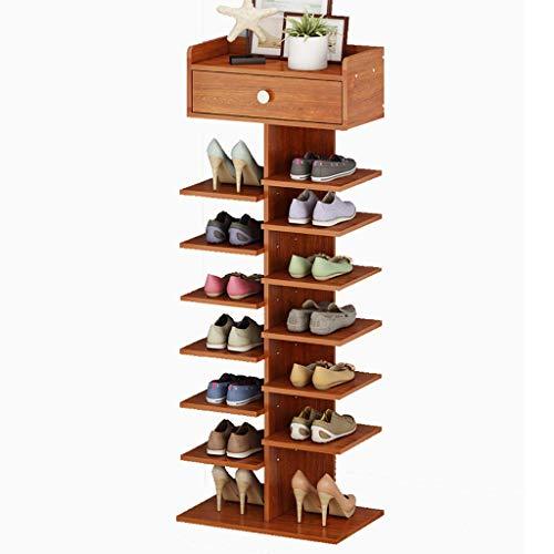 ZUQIEE Shoe Rack Scarpiera con cassetto Bagagli Storage Box for Ingresso Bagno Soggiorno e corridoio